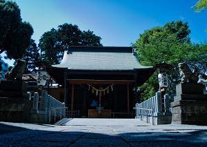 街角スナップ やはり神社にて