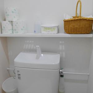 【シンプルライフ】トイレ収納を100均アイテムでDIYしました