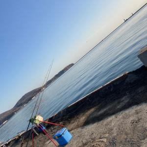 小樽港カレイ狙い投げ釣り