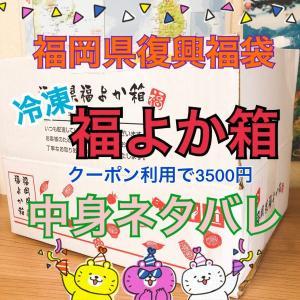 福岡県復興福袋「福よか箱」冷凍便到着!明太子入り中身ネタバレ