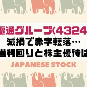 電通グループ(4324)の株価と株主優待は?上場来赤字転落…配当利回りも合わせて今後の株価を予想