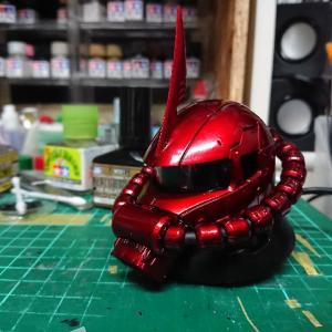 機動戦士ガンダム EXCEED MODEL ZAKU HEAD 3 .シャア専用ザクII (THE ORIGIN版)その4