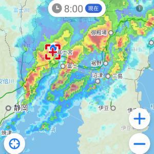 激■しい雨降り気象病