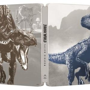 ジュラシック・ワールド/炎の王国 ブルーレイ+DVDセット スチールブック仕様 <セブンネット限定>(Blu-ray Disc)