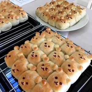 【レッスンレポ】お子さま大喜び!世界に一つだけのキャラクターちぎりパン♡