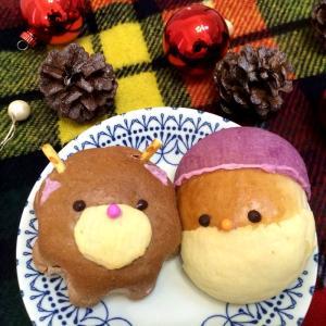 ★12月の限定メニュー★サンタさん&トナカイさん