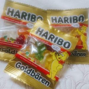 HARIBOの定番カラフルグミをたのしむ♪
