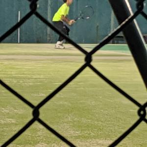 テニスを野球で考える…