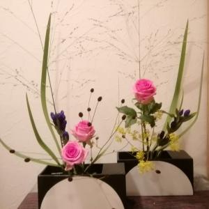 本日のお花(試作中)