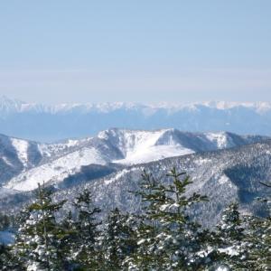 草津の雪景色