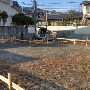 屋代の新築始まります。