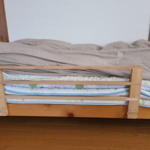ベッドの柵を取り除いたとか認知症予防とか