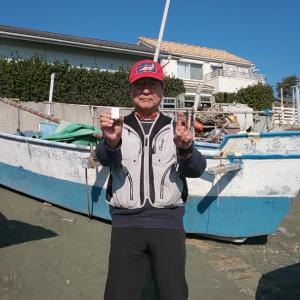 1月例会優勝 onioniさん(前川海岸)