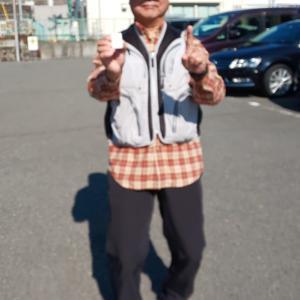 2月例会優勝 onioniさん(国府津海岸)