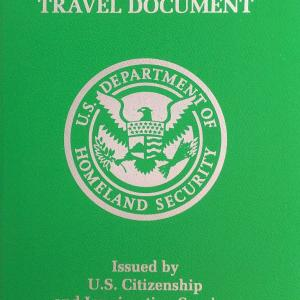 【RP申請】アメリカ大使館でRP(再入国許可証)受領