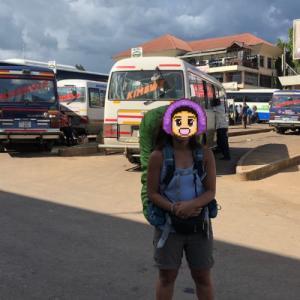 ケニアからタンザニアへ陸路で越境。目指すはキリマンジェロ山の町、モシ。