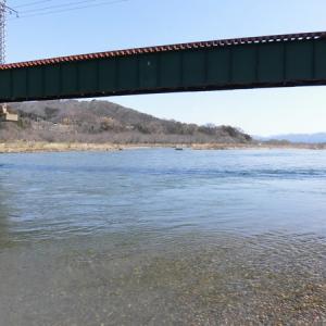 三面川2回目釣行 羽越線