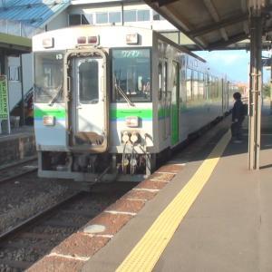 小沢駅で1時間待ち 夫婦で全線完乗 2010年10月 トワイライトで小樽へ -11
