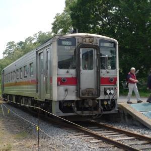 ウニとウトウ大量の天売島へ 夫婦で全線完乗 2011年7月 天売・焼尻 -1