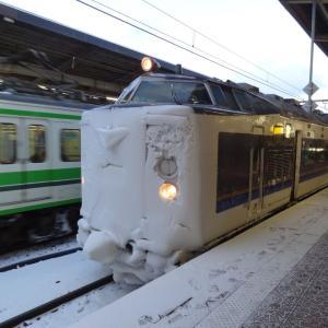 『きたぐに』で磐越線に転戦 夫婦で全線完乗 2013年1月 『きたぐに』連絡で丹後・磐越 -2