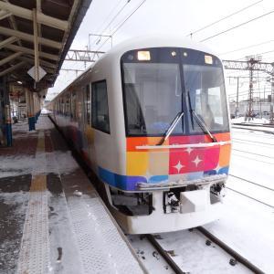 酒田のフレンチと「きらきらうえつ」 夫婦で全線完乗 2013年2月 銀山温泉と新潟近郊乗りつぶし -2