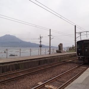 鹿児島の市電と吉都線 夫婦で全線完乗 2013年4月 南九州-1