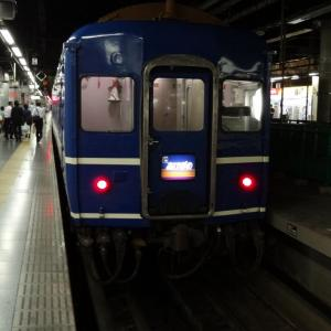 大雨運休から再開の「あけぼの」乗車 2013年8月 津軽・下北-1