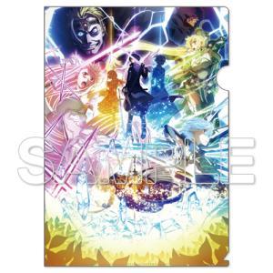 【SAOグッズ】『SAO アリシゼーション War of Underworld』最終章のキービジュアルのクリアファイル