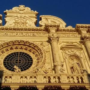 レッチェ サンタ・クローチェ聖堂とユダヤ人居住区