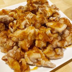 *【おうちごはん】カルディのタレでご飯がすすむ油淋鶏*