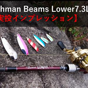 Fishman ビームスローワー73L【実投インプレ】〇〇感に浸れるベイトロッド