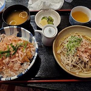 福井県三大かつ丼と越前そばの一挙両得『のむら屋食堂』