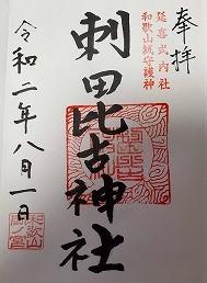 吉宗公出世の秘訣がここに『刺田比古神社』