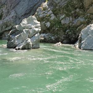 奇岩と自然豊かな吉野川巡りは『大歩危・小歩危』