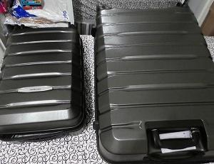 コストコで購入したスーツケース