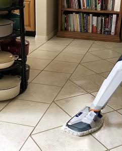 ココロと床の拭き掃除