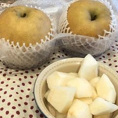 カリフォルニア産の梨