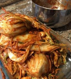 限りなく身近な食材で作る自家製キムチ