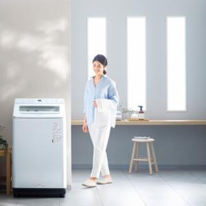 洗剤や柔軟剤を自動投入する全自動洗濯機