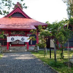 「増毛厳島神社」「留萌神社」