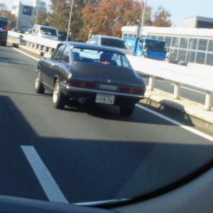 懐かしの車に出会いました。