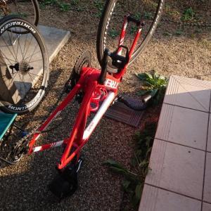 ロードバイク整備な一日