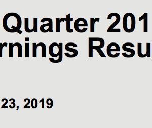 【2019-Q1】ベライゾン(VZ)の第一四半期決算発表