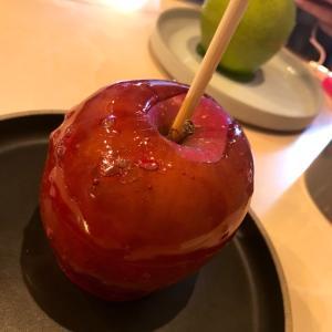 りんご飴の食べれるカフェ