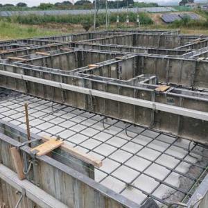 京田辺市T様邸  配筋・検査・基礎配管終わりました