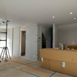 富田林市K様邸 もうすぐ建物は完成です
