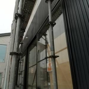 羽曳野市K様邸 外壁工事が進んでいます