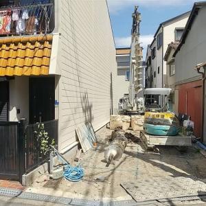 大阪市TU様邸 基礎工事が始まりました