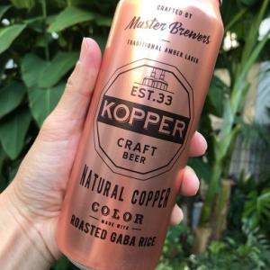 「EST.33 KOPPER」 シンハーのクラフトビール