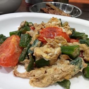 シアワセを呼ぶ トマトと卵の炒りつけ